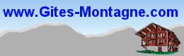 Locations d'Appartements, Studios, Chalets, Gites, Refuges en Savoie