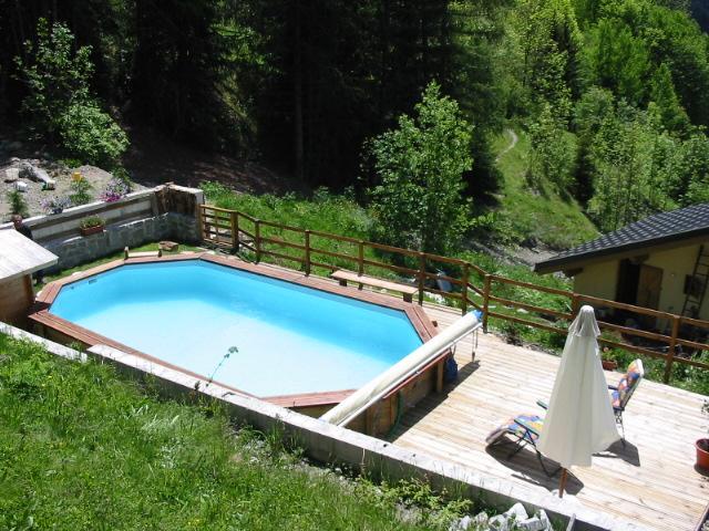 Maison chalet peisey nancroix paradiski la plagne - Chalet avec piscine privee ...