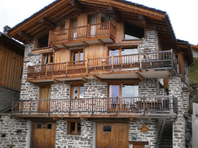 appartement la rosi re 1850 haute tarentaise location appartement 4 10 pers en chalet plein. Black Bedroom Furniture Sets. Home Design Ideas