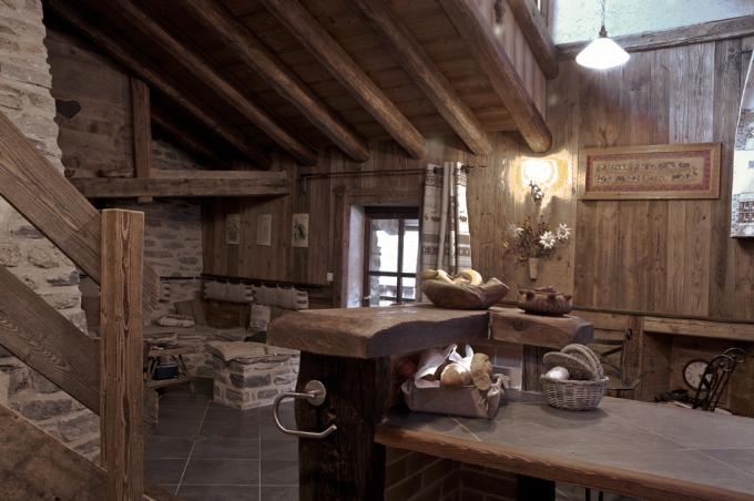 Cuisine chalet cool cuisine style campagne stunning - Cuisine chalet montagne ...