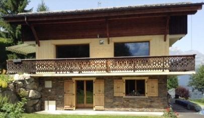 Maison chalet combloux pays du mont blanc le chalet - Office du tourisme combloux location ...