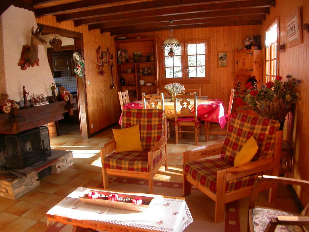 Maison   chalet à megevette, alpes du léman chalet de charme (lc24)